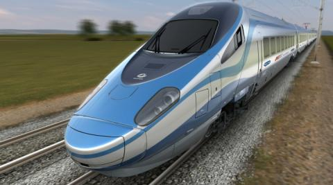 "Poland's PKP Intercity present ""Express Intercity Premium"" trainset"