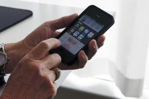 Appar du? Helsingborgs Lärcentrum visar appar för skriv- och lässtöd i mobilen