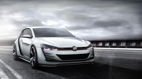 New images available of Volkswagen Design Vision GTI at Woerthersee gathering