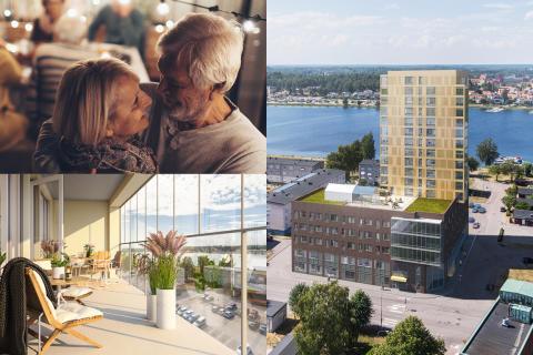 Pressinbjudan: Brf Orrholmsstrand och Vardagas äldreboende Villa Orrholmen – nu lägger vi första murstenen!