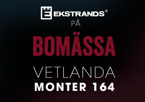 Ekstrands på Bomässan i Vetlanda 8 - 10 april 2016