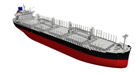 First order received from a shipowner in Japan for the newly developed 42,000-metric-ton log and bulk carrier TESS42