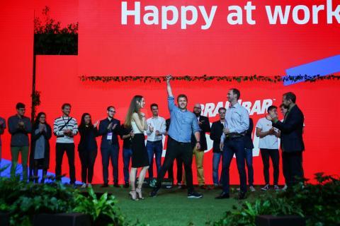 Happy at Work vinner stor startuptävling i Budapest