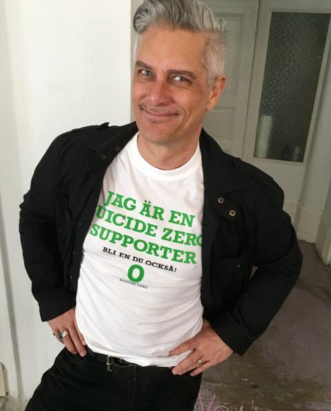 Magnus Skogsberg (ICA Sebastian) ny ambassadör för Suicide Zero
