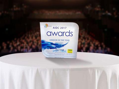 TSC utnevnt til beste termiske etikettskriverleverandør i 2017