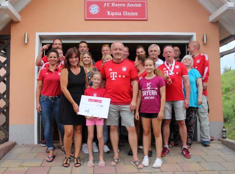Bayern Fanclub Lipsia United sammelt erneut für Bärenherz
