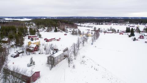 Nicola Hoods och Jonathan Öströms hus i Frostkåge