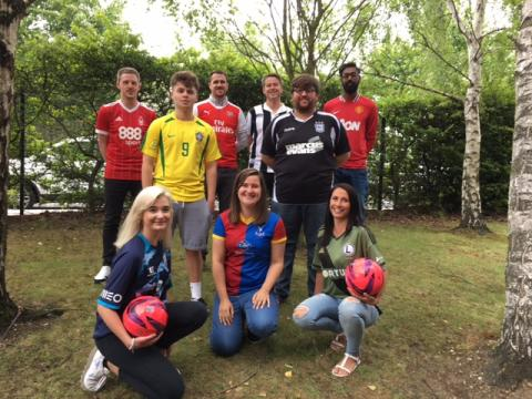 Fred. Olsen staff raised over £200 in aid of the Bradley Lowery Foundation