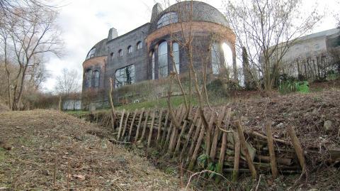 Goetheanum-Park: Einrichten eines Feuchtgebiets