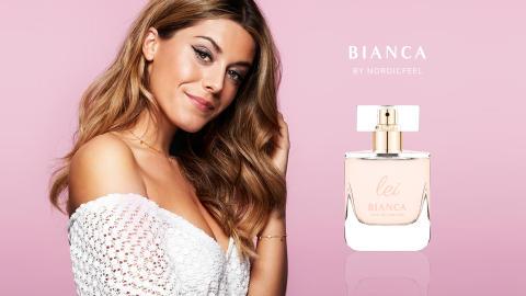Biancas parfym är redan slutsåld