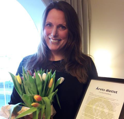 Årets dietist finns i Växjö kommun
