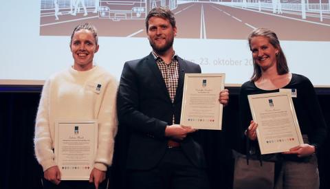 Kristoffer Tungland (COWI) vant «Årets Unge Rådgiver»