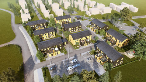 Forsen skriver samverkansavtal om nytt bostadsområde i Gnesta