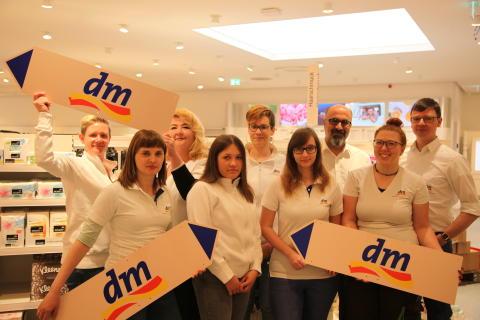 Erster dm-Markt eröffnet in Hemmingen-Westerfeld