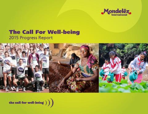 """Доклад за напредъка на """"Призив за благоденствие"""" (Call For Well-being)"""