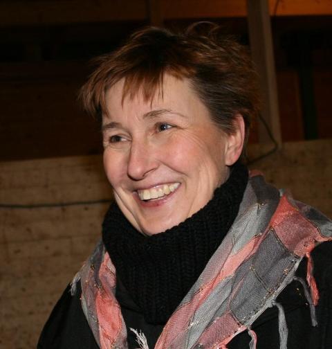 Antia Strömbäck, projektledare för östgötahästar