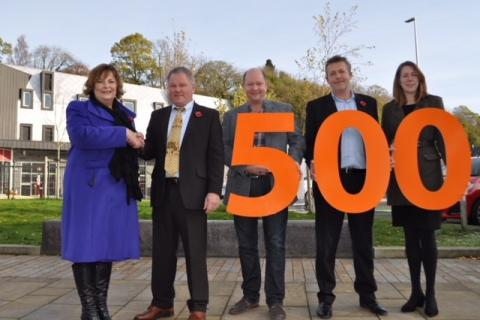 Scottish Borders Tourism Partnership welcomes 500th member