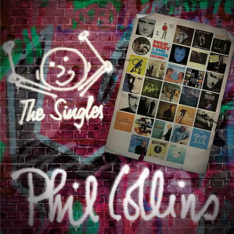 "PHIL COLLINS udgiver ""THE SINGLES"" d. 14. oktober !"