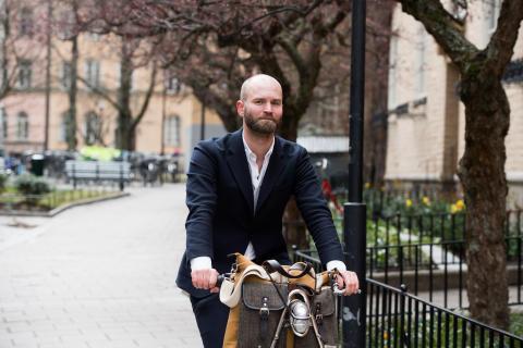 Lars Strömgren slutar som ordförande i Cykelfrämjandet