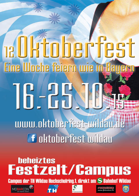 12. Wildauer Oktoberfest auf dem Campus der TH Wildau