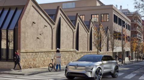 Renault MORPHOZ – Den første bil, der tilpasser sig ethvert behov.