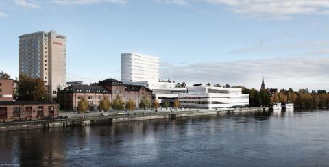 Schneider Electric levererar smarta kommunikationssystem till Kvarteret Forsete och nya kulturhuset Kulturväven i Umeå
