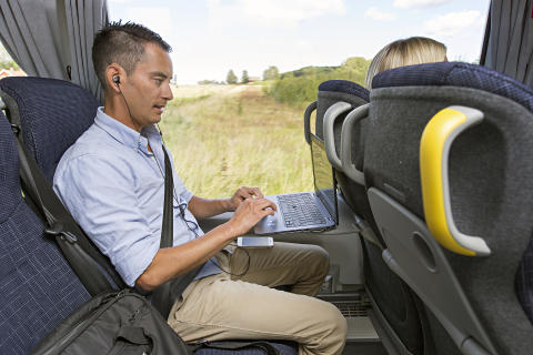 Enklare att arbeta på bussen mellan Askersund och Örebro