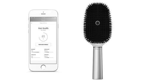 Kérastase och Withings introducerar världens första Smart hårborste på CES 2017