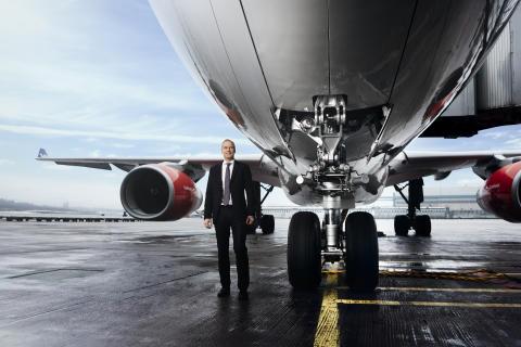 """SAS vd Rickard Gustafson: """"Samhället kollapsar utan flyget"""""""
