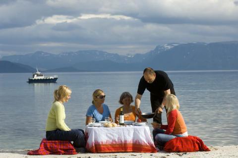 Dinner am Meer / Finnmark