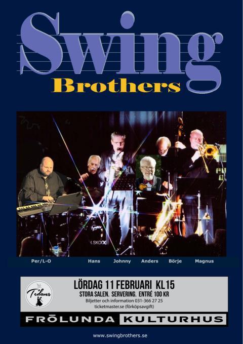 SWING BROTHERS - Tedans