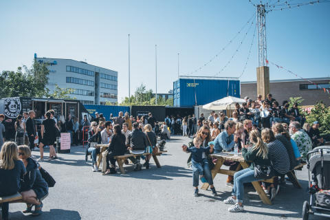 Nobelberget Marknad. Foto: Paulina Torbjörnsen