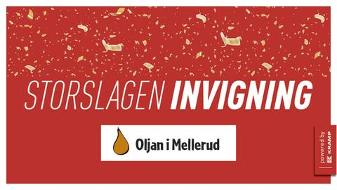 Pressinbjudan: invigning av nytt butikskoncept hos Oljan i Mellerud