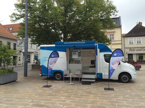 Beratungsmobil der Unabhängigen Patientenberatung kommt am 23. Januar nach Eberswalde.