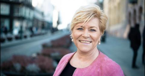 FrP vinner valget - på Facebook