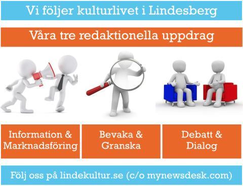 LindeKultur - en nyhetskanal med tre redaktionella uppdrag