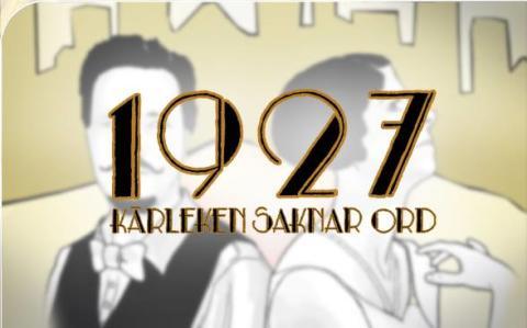 Premiär för 1927 - en svartvit improkomedi!