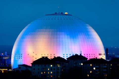 Extragloben på Ericsson Globe