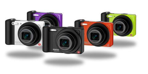 Pentax RZ10 ja viisi eri väriä