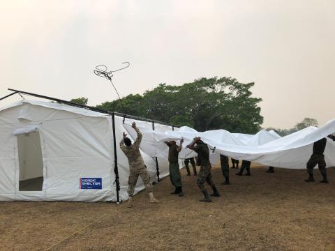 MSB:s basläger San José de Campamento, Bolivia