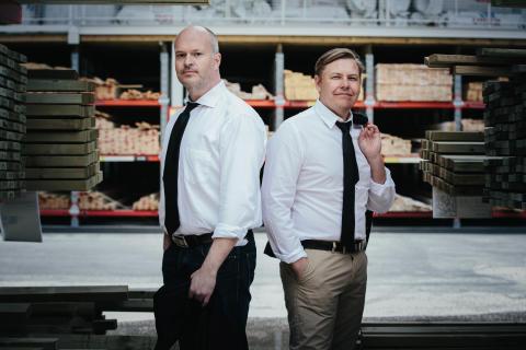 CIO Patrik Dahlén och CEO Magnus Svensson