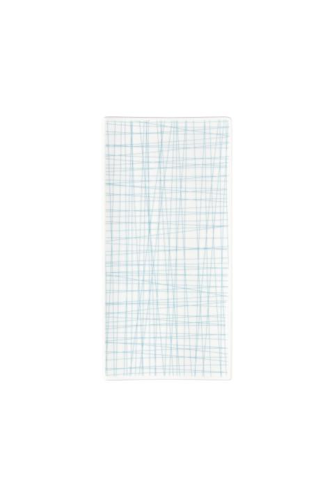R_Mesh_Line Aqua_Platter flat 26 x 13 cm