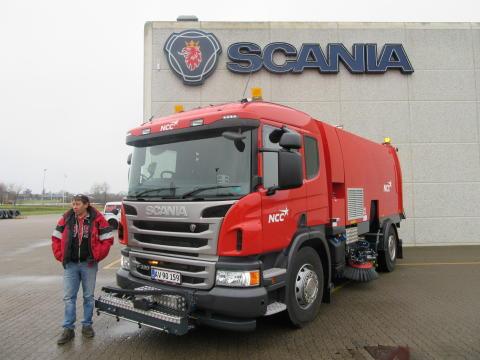 Ny Scania P 320 med ren SCR teknologi til NCC