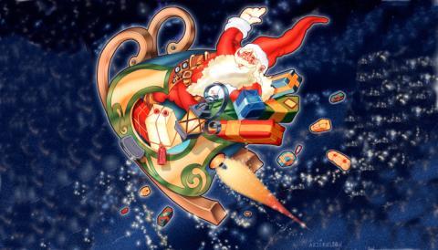 Kuvert till jul- och nyårskort kan inte återvinnas