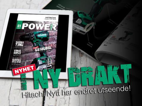 NYHET! Hitachi lanserer nytt magasin