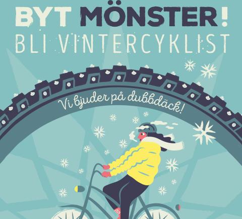 Vi söker vintercyklister som vill inspirera andra