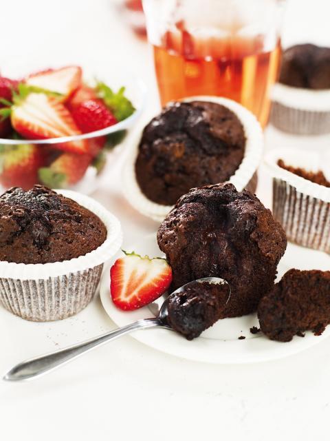 Glutenfrie Chokladmuffin fra Fria