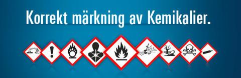 Säker kemikalieförvaring, hantering och märkning