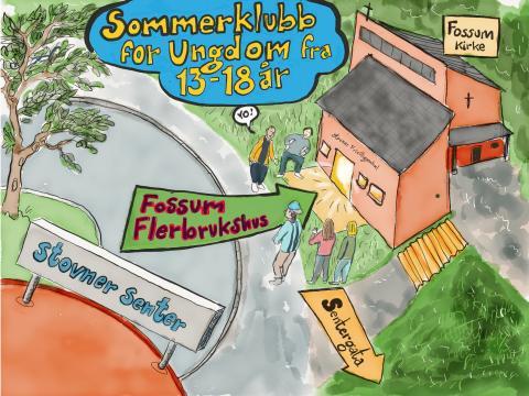 Sommerklubb i Fossum flerbrukshus og andre ferieaktiviteter