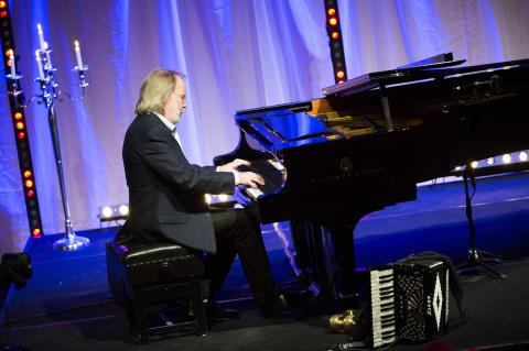 Benny Andersson inviger Luleå tekniska universitets nya orgel